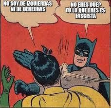 "De ""derecha"" o de ""izquierda"""