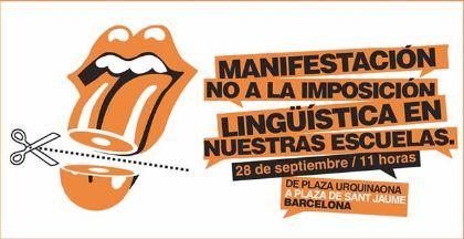 Ciudadanos convoca una valiente y digna manifestación por el bilingüismo