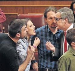 Demasiado odio en la política española