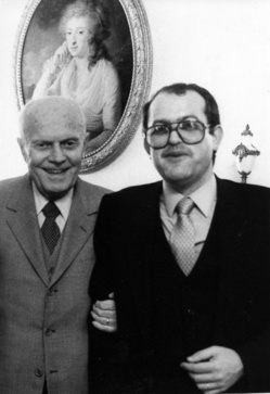 Sandro Pertini y Francisco Rubiales