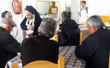 España: ZP ayuda a los banqueros y la iglesia ayuda a los pobres
