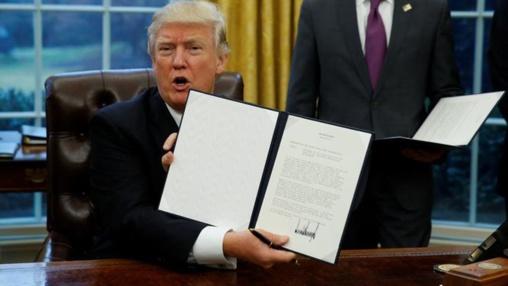 Trump anuncia una bajada masiva de impuestos