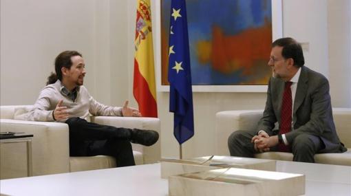 """Rajoy y Pablo Iglesias: triunfan dos """"adversarios-socios"""" que se necesitan"""