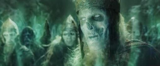 El ejército de los muertos que derrotó a Sauron y a sus orcos