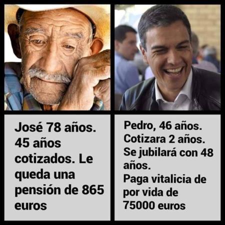 España y la obscenidad política