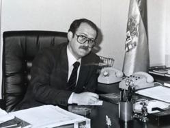En mi despacho. Años previos a 1992