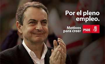 Crisis en el gobierno: Zapatero, en su última playa