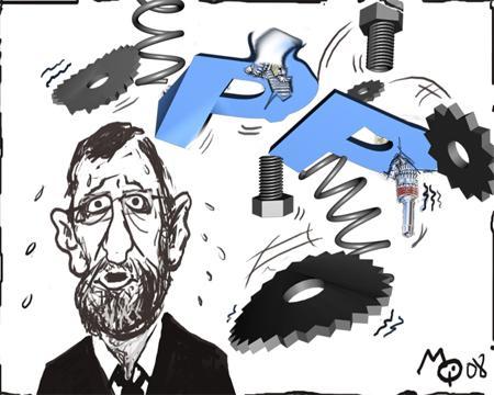 España: lo corrupto relevará a lo podrido y un inútil sustituirá a un inepto