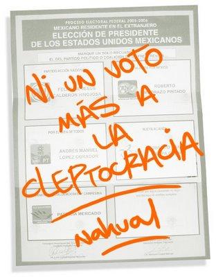 Mexico: éxito del voto nulo. El reproche se convierte en la tercera fuerza del país