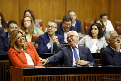 Risas mientras los herederos andaluces son saqueados y sufren
