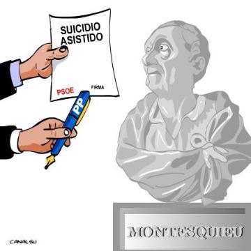 La Justicia española, como la política, se bloquea y fracasa
