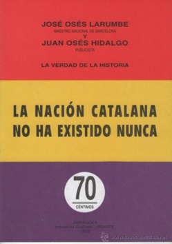 La independencia catalana y el miserable nacimiento de una nación