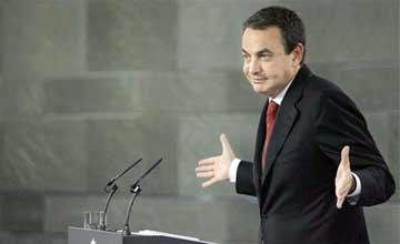 Zapatero se niega a adelgazar