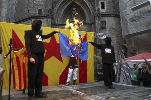 La orgía catalana del odio