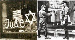 Nazis acosan negocios judios