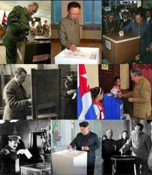 Se vota en muchos países que carecen de democracia. Lo importante no es votar, sino elegir a los representantes. En España, los ciudadanos votan, pero no eligen.