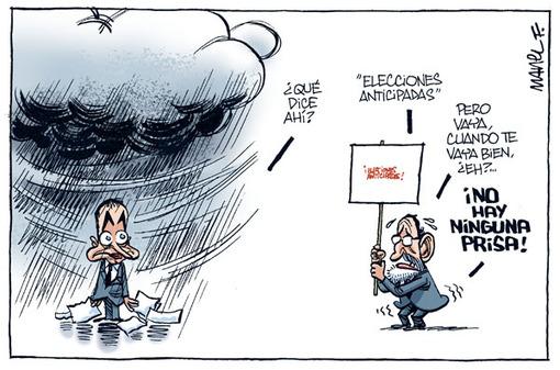La semana terrible de Zapatero (Humor)
