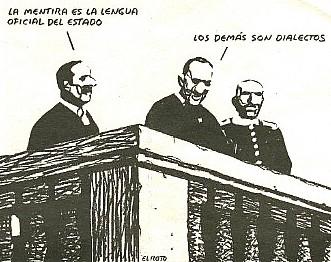 La España de Zapatero, reíno de la mentira, patria del engaño