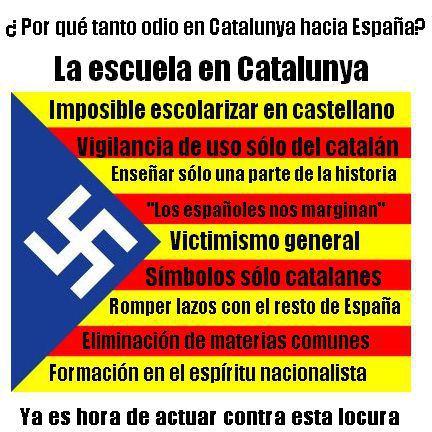 Mano dura contra los nazis catalanes, la que debió haber tenido el mundo libre frente a Hitler