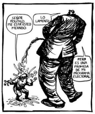 El estercolero público español