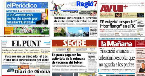 El envilecimiento del periodismo catalán