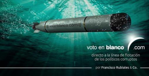 Voto en Blanco abre página en Facebook