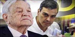 La reunión secreta de Sanchez con Soros, claro enemigo de España, eleva el nivel de vileza del gobierno