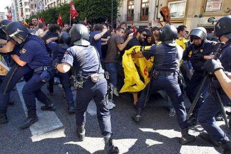 España: la huelga general permite al gobierno probar sobre el terreno sus dispositivos antirebeldía ciudadana