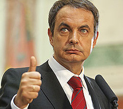 Si Zapatero no dimite es porque carece de dignidad