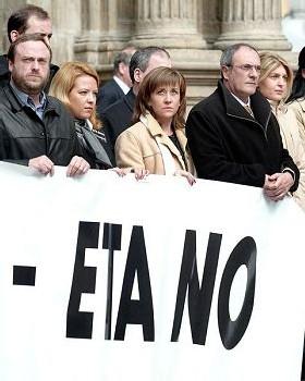 TERRORISMO: EL ESTADO ESPAÑOL NO PUEDE NEGOCIAR EL CUMPLIMIENTO DE LAS LEYES
