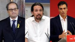 Pedro Sánchez imita al general Franco en su política catalana