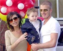 Los Beckham en la Ruber