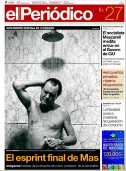 """La prensa catalana y su nauseabundo sometimiento a la """"casta"""""""