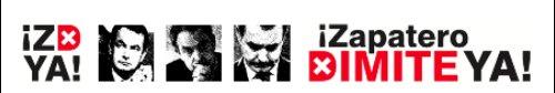 Zapatero, deslegitimado por el rechazo de su pueblo, debería dimitir, si tuviera decencia