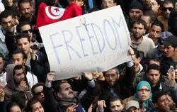 Los rebeldes no exigen democracia sino justicia