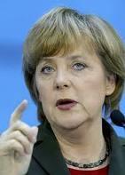 Bienvenida Frau Merkel