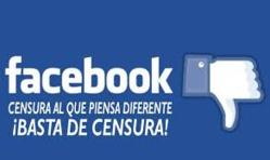 FACEBOOK me censura de nuevo, sin razón y seguramente como consecuencia del trabajo de los trolls catalanes