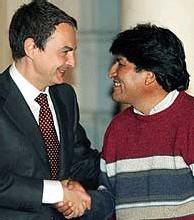 Evo Morales en España: ZP adquiere una especial responsabilidad ante la comunidad internacional