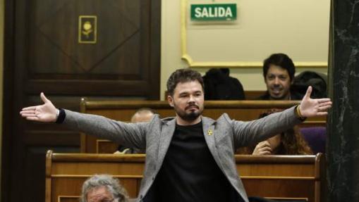 Dejar que entren en el Congreso rufianes llenos de odio a España es un error que pagaremos caro