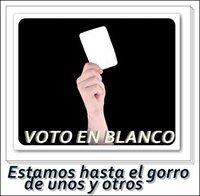 Buenas noticias para Voto en Blanco