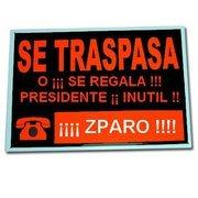 ¡Albricias! Zapatero se va