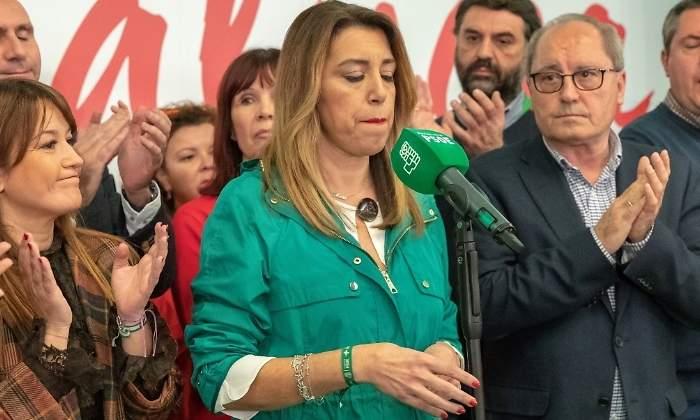 Tristeza y dolor en los señoritos andaluces derrotados