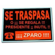 Zapatero, fracasado y humillado por la derrota, es ya el gran estorbo para España y para su partido