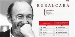 En una democracia seria, Rubalcaba estaría inhabilitado