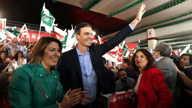 Los tres protagonistas de la batalla por el socialismo andaluz