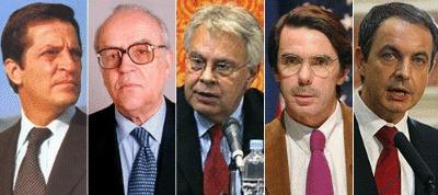 ¿Quien ha causado más más daño a España, González, Aznar o Zapatero?