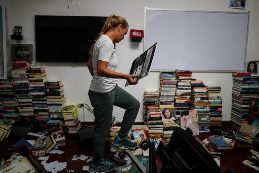La vivienda saqueada de Leopoldo López, método de terror comunista contra sus enemigos