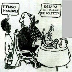 Los políticos españoles deben pedir perdón