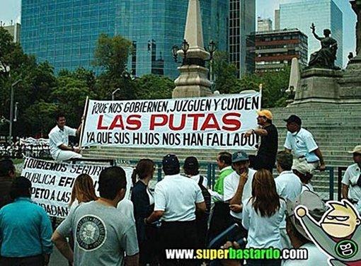 Manifestación en México DF
