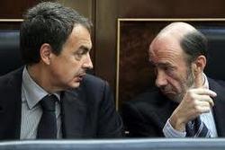 Rubalcaba, al igual que Zapatero, está delegitimado para dirigir el PSOE